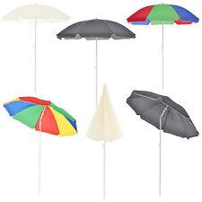 [casa.pro] Strandschirm Sonnenschirm Schirm Gartenschirm Knickgelenk Knickbar