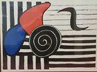 Alexander Calder Pace Columbus Exhibitation Poster 1984 Framed