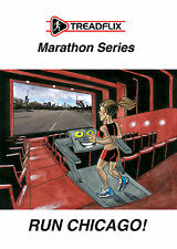 RUN CHICAGO! The Ultimate Marathon Training Videos by Treadflix on USB