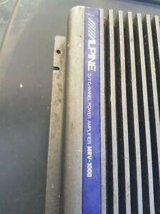 ALPINE MRV-1000 V12-POWER 1000w 1/2 channel bass engine