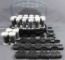 16 elektrische Lockenwickler Remington, Butterflyklammern und 4 Ersatzwicklern