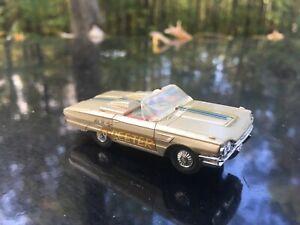 Vintage 1965 Tyco Thunderbird Convertible HO Slot Car