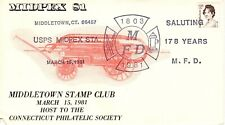 MIDDLETOWN FIRE DEPT., MIDDLETOWN, CT  1981 FDC9075
