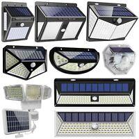 Solar Power Outdoor Light Motion PIR Sensor Wall Lamp Garden Pathway Security US