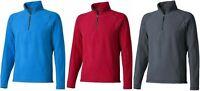 Elevate Mens Outdoor Hiking Walking Camping 1/4 Zip Pullover Fleece Jacket Top