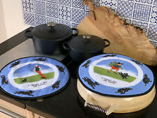 Oven Aga Hob Covers Range Pads, Perfect Gift For Dog Lovers