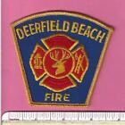 Deerfield Beach FL Fla State Florida Defunct Fire Rescue Patch Broward County V1