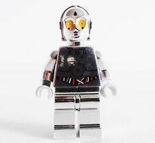 LEGO STAR WARS original minifig CHROME-SILVER TC-14 PROTOCOL DROID minifigure