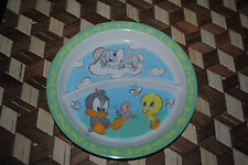 Looney Tunes Babies Collectible Dinner Plate Baby Bugs Daffy Tweety Vintage 1992
