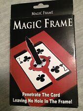 Magic Penetration Frame - Object Passes Through Plastic Frame - Easy To Do Magic