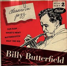 """BILLY BUTTERFIELD!! - CLASSICS IN JAZZ"""" CAPITOL EAP 2-424 PART TWO VG!!"""