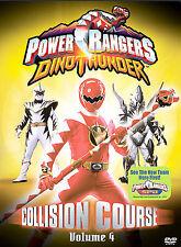 Power Rangers Dino Thunder, Vol. 4: Collision Course (DVD) SHIPS NEXT DAY