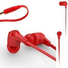 iriver Blank BSE-30M Earphones Earset Built-in mic For Smartphones BSE30M Red