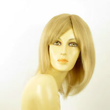perruque femme 100% cheveux naturel longue blonde ref SEVERINE  22