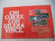 advertising Pubblicità 1988 MOTO GILERA MX1 MX-1 125/KZ