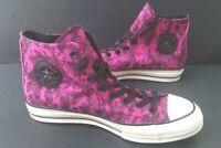 Mens Size 9,10,11,11.5 Sneakers CONVERSE CHUCK 70 163231C Hi Top PURPLE CAMO