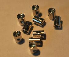 10 Stk. Schraubnippel / 5 x 7 mm , für Gaszug oder Kaltstarterzug ( Griffseite )