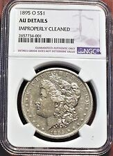 1895-O MORGAN DOLLAR $1 NGC AU DETAILS, LOTS OF MINT LUSTER, LOOKS AU58!