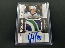 2018-19 UD The Cup Exquisite Collection Elias Pettersson #/40 4 Color RPA Auto