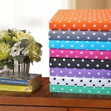 polyester polka dot sheets u0026 pillowcases