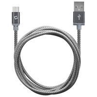 Cellet Braided Nylon 5 Ft Micro USB Charging Cable Data Sync Charger Cord