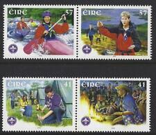 IRELAND 2002 IRISH SCOUTS SET OF 4 UNMOUNTED MINT, MNH