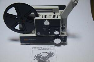 Super 8 + Normal 8  filmprojektor  Eumig 610D