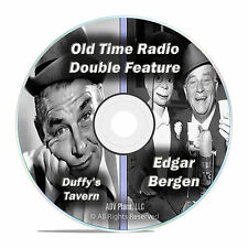 Edgar Bergen & Charlie McCarthy, Duffy's Tavern 447 Old Time Radio Shows DVD F84