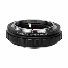 Fotodiox objetivamente adaptador DLX Stretch Canon FD lens to micro four thirds Camera