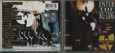 ENTER THE WU TANG 36 CHAMBRES CD WU-TANG CLAN 1993 13 tracce