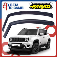 Deflettori Aria Per Jeep Renegade Dal 2014> Antivento Atipioggia Fumè 14171M