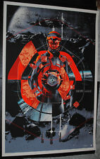 Ender's Game 2013 art print movie poster #/340 Mondo Martin Ansin rare O.S. Card