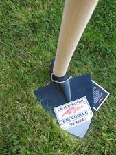 "Genuine Chillington Tools ""Crocodile Brand"" Ridging Hoe with Handle"