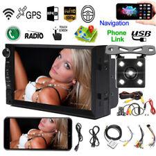 7inch Android 8.1 Car Stereo GPS Navigation BT WiFi USB Radio + Rear View Camera