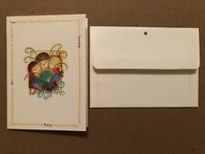 APPLE COMPUTER UNUSED VINTAGE EMPLOYEE CHRISTMAS CARD CIRCA 1980'S-90'S SCARCE