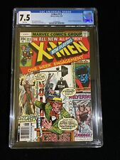 1978 Marvel Comics X-Men #111 CGC 7.5 White Pages, Claremont, Byrne, 0002