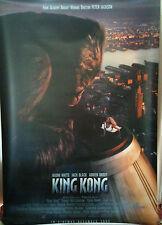 Cinema Banner: KING KONG 2005 (Rooftop) Peter Jackson Jack Black Naomi Watts