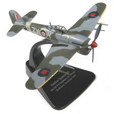 1:72 Oxford Diecast Hawker Typhoon Mk1b - Model British Aircraft Collectable