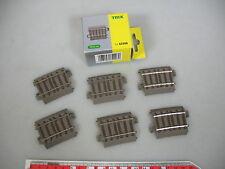 AN1-0,5# 6x Trix H0/DC 62206 Ausgleichsstück/Schienen (C-Gleis), NEUW+OVP