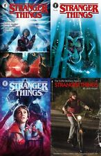 (2018) Netflix STRANGER THINGS #1 A B C D VARIANT COVER SET