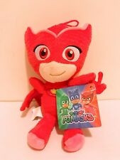 "8"" PJ Masks Characters Red Owlette Plush Doll Stuff Animal Toy Boys Girls NWT"