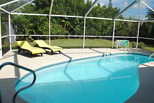 Ferienhaus Florida Cape Coral USA mieten Pool Strandnähe 4-6 Pers. W-Lan Ferien