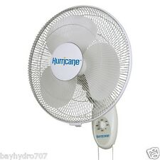 ECO-PLUS Hurricane Supreme Wall Mount Fan 16 in - Now ETL Listed SAVE BAY HYDRO
