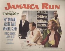 Jamaica Run 11x14 Lobby Card #3