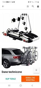 Thule EuroClassic G6 929 Towbar Mount 3/4 Cycle Carrier