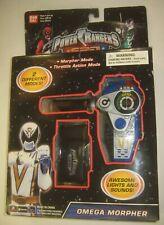 Omega Morpher Power Rangers SPD Sealed New Bandai 2004 MIB Space Patrol Delta