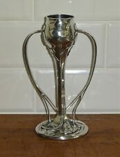 More details for a e williams pewter tulip vase art nouveau design by archibald knox