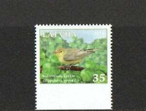 LATVIA SG809 BIRDS EX BOOKLET  2011 MNH