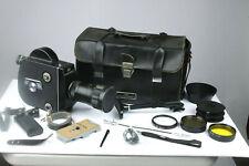 KRASNOGORSK-3 16mm Movie Cine Camera Meteor-5-1 17-69mm f1.9 zoom Lens-Extras