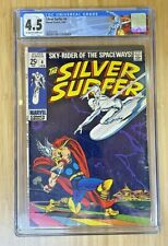 The Silver Surfer # 4 CGC 4.5